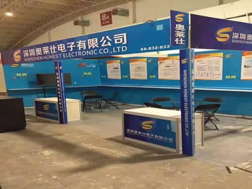 深圳奧萊仕電子展臺搭建