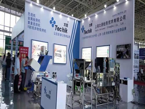 上海太易檢測技術展臺搭建